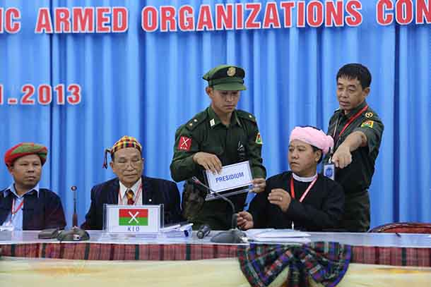 Myanmar, burma, Kachin, UNFC, United Nationalities Federal Council, Army, Federal, federalism