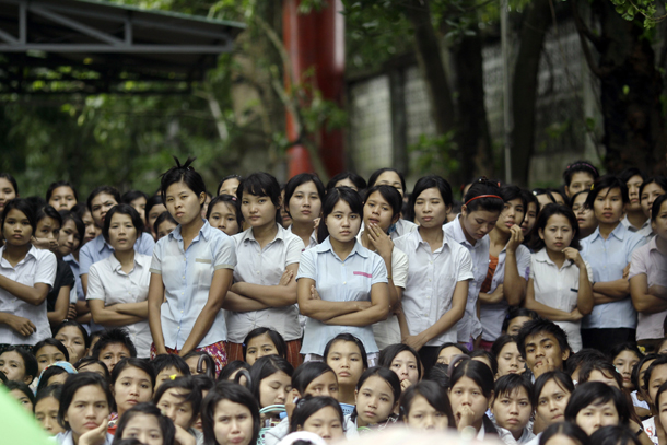 Myanmar Factories Warn of Rise in Strikes Fueled by Activists
