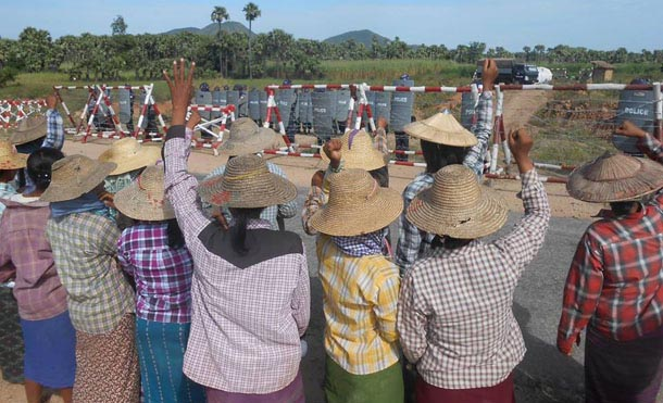 Letpadaung, Wanbao, Myanmar, Burma, The Irrawaddy, protest, Chinese