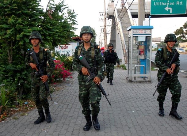 Thailand, military coup