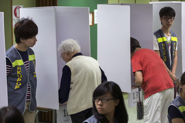 referendum in Hong Kong