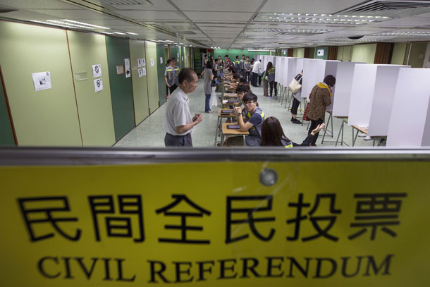 democracy in Hong Kong