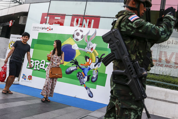 World Cup gambling, Thai crackdown