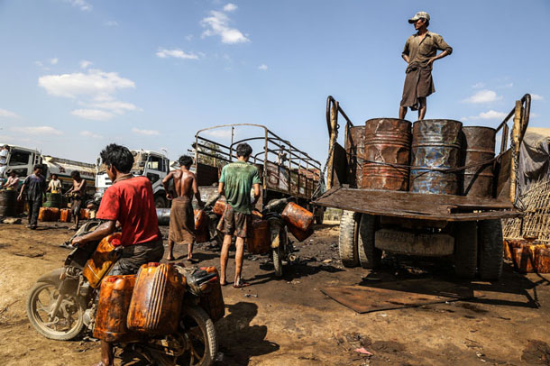 Myanmar labor conditions