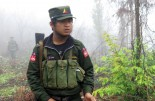 SSA-North rebel soldiers in northern Shan State, in June 2013. (Photo: Kyaw Kha / The Irrawaddy)