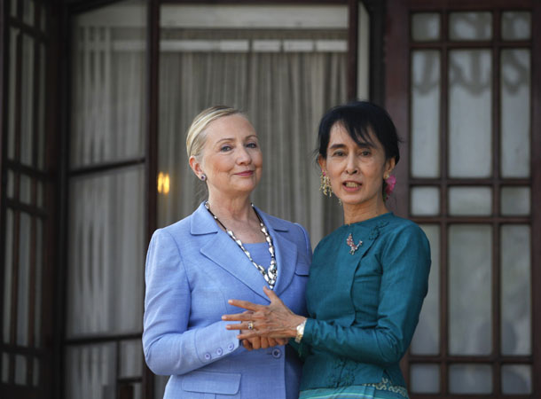Clinton US Burma policy