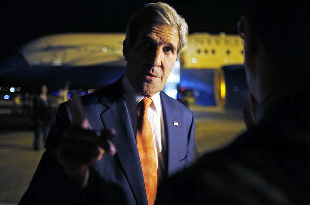 US Secretary of State John Kerry. (Photo: Reuters)