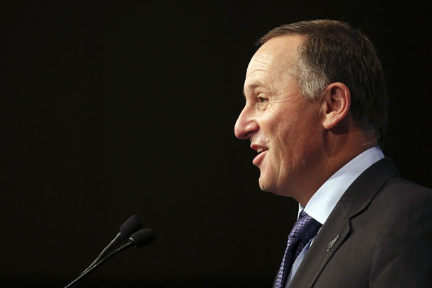 New Zealand's Prime Minister John Key speaks at a luncheon in Sydney February 7, 2014. (Photo: Reuters)