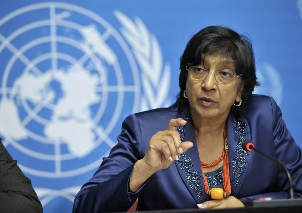 UN Human Rights Chief Navi Pillay. (Photo: Reuters)