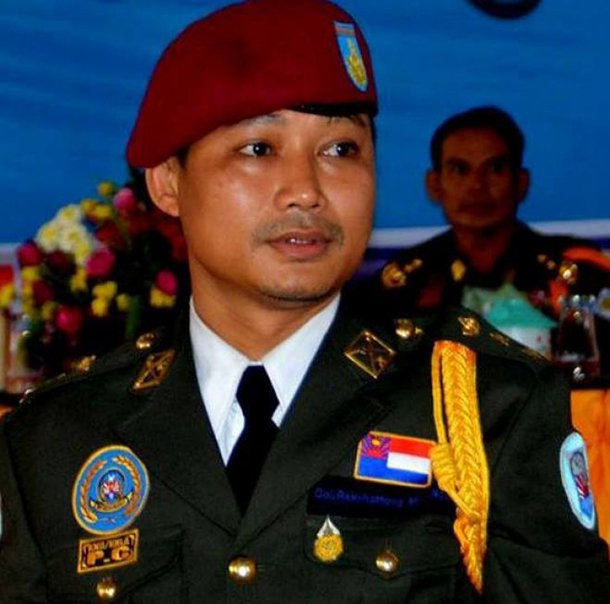 Col. Tiger, who leads the KNU/KNLA-Peace Council, said a Burma Army commander ordered his men to disarm before entering Myawaddy. (Photo: KNU/KNLA-Peace Council)