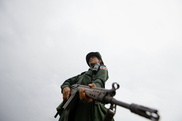 Allegations of human rights violations have plagued the Burma Army for decades. (Photo: Reuters)