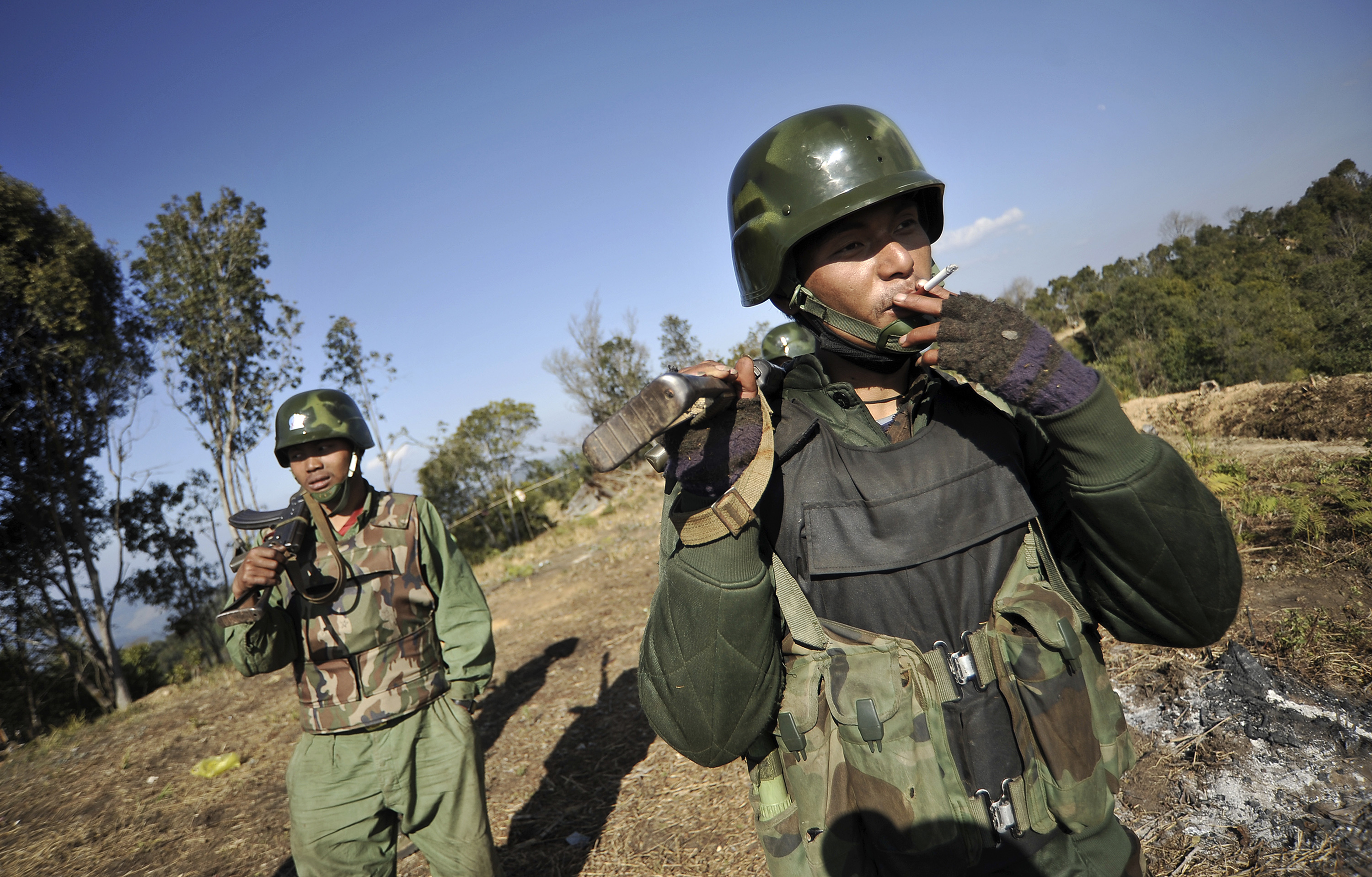 Myanmar Government Says Kachin Rebels Trying To Scuttle