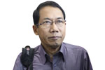 Dr. Aye Maung, chairman, Arakan National Party. (Photo: JPaing / The Irrawaddy)