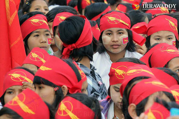 Public support has been growing for hundreds of students who on Jan. 20 began a peaceful march from Mandalay to Rangoon. (Photo: JPaing / The Irrawaddy)