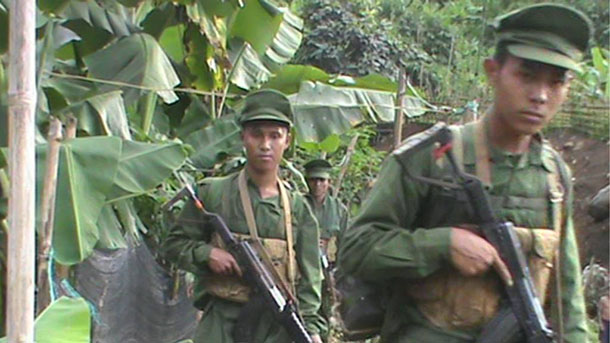 Soldiers from the Arakan Army have reportedly clashed with government troops in western Burma. (Photo: Facebook / Arakan Information Department)