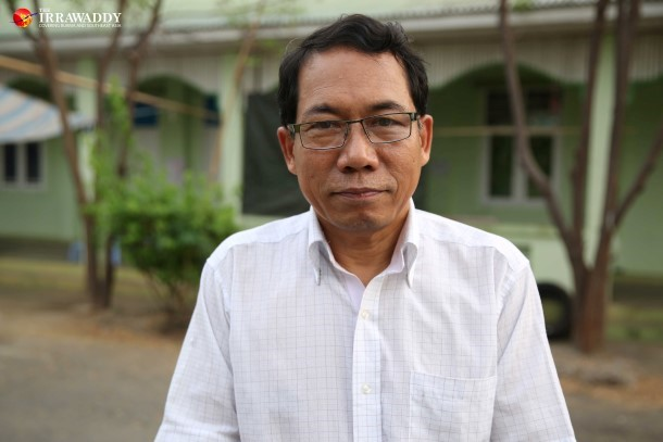 Parliamentarian Aye Maung represents Burma's ethnic minorities in high-level, six-party talks on political reform. (Photo: JPaing / The Irrawaddy)