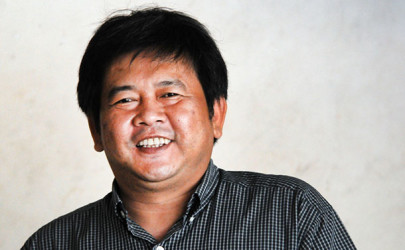 Aung Moe Zaw, chairman of the Democratic Party for a New Society, says leading members of the formerly exiled party are barred from contesting the 2015 elections due to Article 120 of the Constitution. (Photo: Steve Tickner / The Irrawaddy)