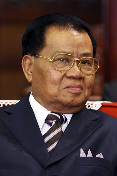Former junta leader Snr-Gen Than Shwe. (Photo: Reuters)