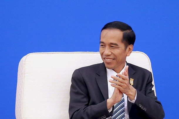 Indonesia's President Joko Widodo, also known as 'Jokowi,' at an economic summit in March. (Photo: Reuters)