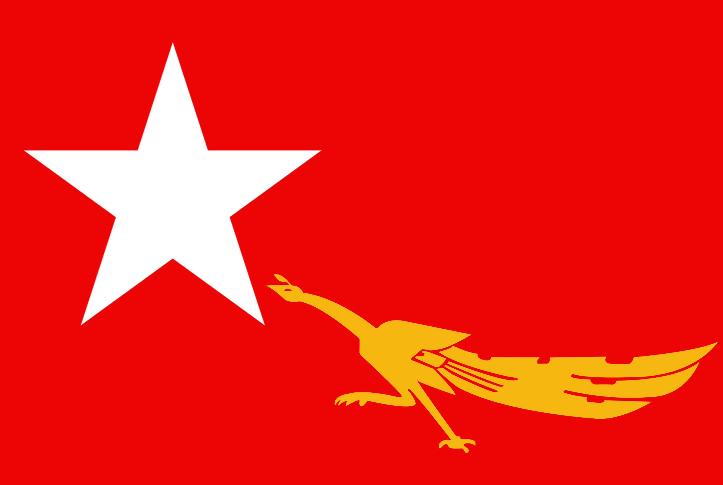 National League for Democracy (NLD) Flag