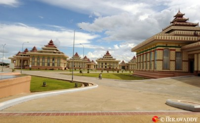A view of Naypyidaw's government district. (Photo: Steve Tickner / The Irrawaddy)