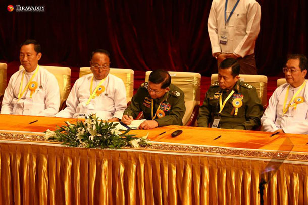 Long sought ceasefire signed in naypyitaw a nationwide ceasefire agreement was signed between the burmese government and eight armed groups on thursday morning in naypyidaw platinumwayz