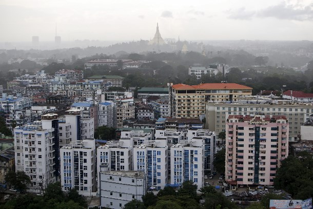 The Rangoon skyline. (Photo: Reuters)