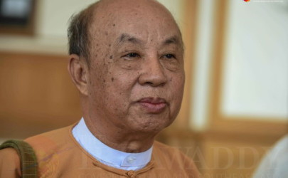 Tun Tun Hein, chairman of the Lower House Bill Committee. (Photo: JPaing / The Irrawaddy)