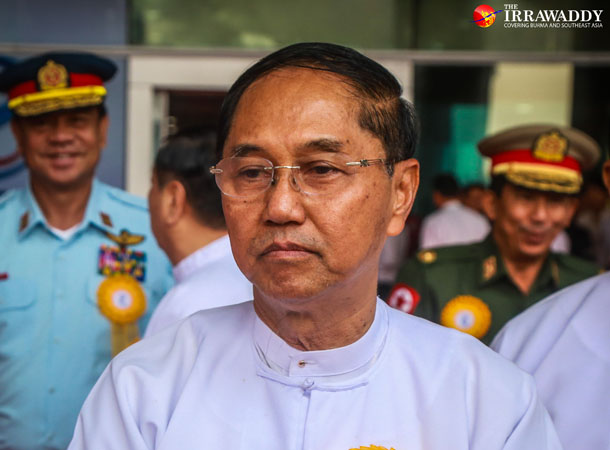 Myint Swe (Vice President 2)(Photo: Pyi Kyaw/The Irrawaddy)