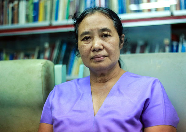 Dr. Cynthia Maung, founder of the Mae Tao Clinic on the Thai-Burma border. (Photo: JPaing / The Irrawaddy)