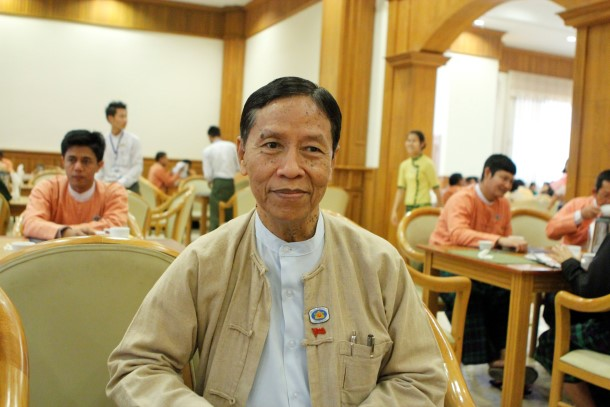 Kyaw Win (Photo: The Irrawaddy)