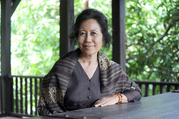 Lahpai Seng Raw, co-founder of the Metta Foundation. (Photo: Steve Tickner / The Irrawaddy)