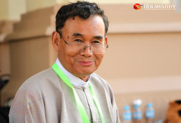 Ohn Win (Resource and Environmental Conservation Minister)(Photo: Myo Min Soe /The Irrawaddy)