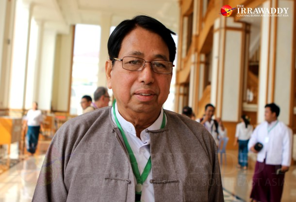 Pe Myint (Photo: The Irrawaddy)