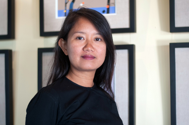 Yin Myo Su wishes to preserve local culture and promote development through her work in the hospitality industry near her native Inle Lake. (Sai Zaw / The Irrawaddy)