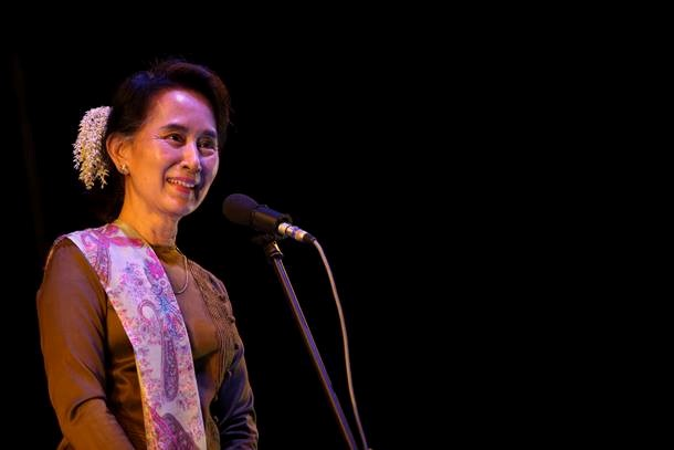 Aung San Suu Kyi (Photo: The Irrawaddy)