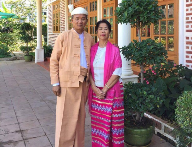 Ohn Maung, left. (Photo: supplied)