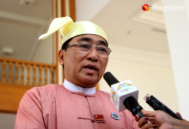 Win Myat Aye (Photo : The Irrawaddy)