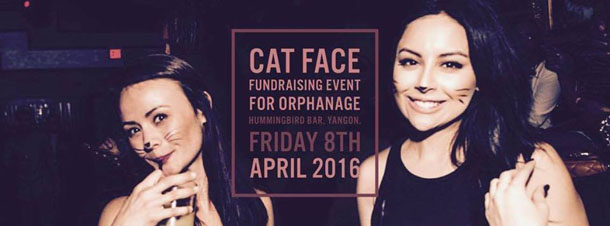 Cat Face Fund Raising Event