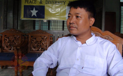Nay Myo Wai, chairman of the Peace and Diversity Party, is ironically best known for his anti-Muslim rhetoric. (Photo: The Irrawaddy)