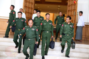 Military Defends Conduct in Arakan as Lawmakers Debate Conflict