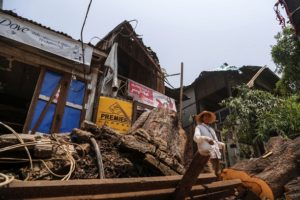 Heavy Winds Hit Mandalay
