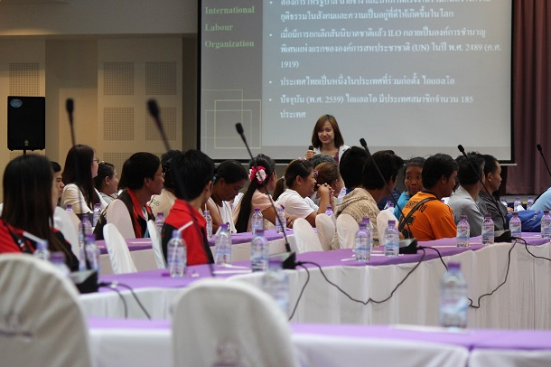 Migrant domestic workers participate in a seminar in Chiang Mai, Thailand on International Domestic Workers' Day, June 16, 2016. (Photo: Nyein Nyein / The Irrawaddy)