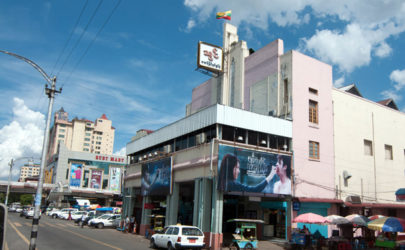The Thwin Theater on Bogyoke Aung San Road in downtown Rangoon in 2014.  (Photo: The Irrawaddy)