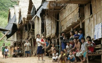 Ethnic Karen refugees in Tham Hin camp, Ratchaburi province in 2006. (Photo: Reuters)