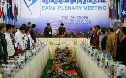 Mai Ja Yang Summit in Kachin State. (Photo: Thaw Hein Htet / The Irrawaddy)