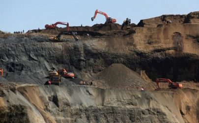 A mining field in Kachin State. (Photo: The Irrawaddy)