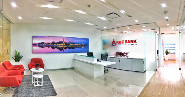 The KBZ representative officeat Sathorn Square Office Tower in Bangkok (Photo: KBZ Bank)