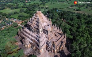 Sulamani Temple, one of nearly 200 temples in Bagan dam…