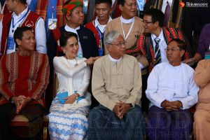 Left to right: Vice-President (2) Henry Van Thio, State…